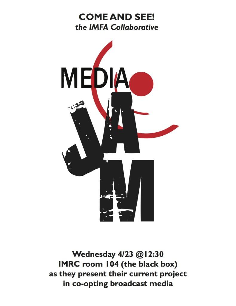 Media Jam flyer